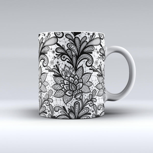 The-Black-and-White-Geometric-Floral-ink-fuzed-Ceramic-Coffee-Mug