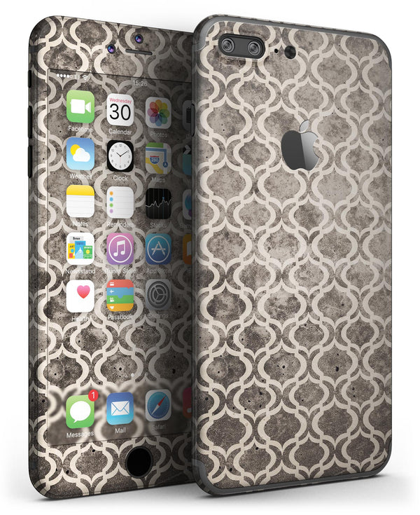 Black_and_White_Grunge_Bubble_Morrocan_Pattern_-_iPhone_7_Plus_-_FullBody_4PC_v3.jpg
