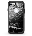 Black and White Grungy Marble Surface - iPhone 7 or 8 OtterBox Case & Skin Kits