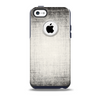 Black and White Scratched Texture Skin for the iPhone 5c OtterBox Commuter Case