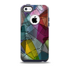 Black and White Wavy Surface Skin for the iPhone 5c OtterBox Commuter Case