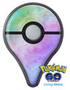 Blotted 6752 Absorbed Watercolor Texture Pokémon GO Plus Vinyl Protective Decal Skin Kit