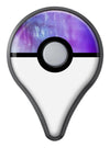 Blotted Purple 896 Absorbed Watercolor Texture Pokémon GO Plus Vinyl Protective Decal Skin Kit