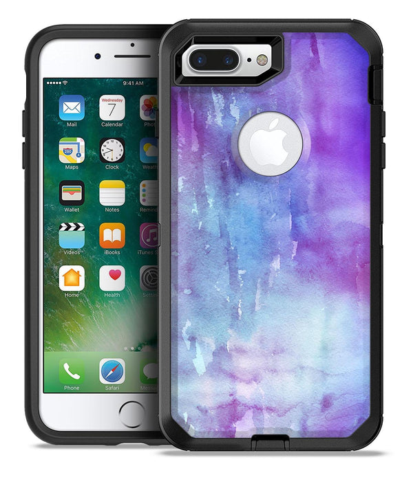 Blotted Purple 896 Absorbed Watercolor Texture - iPhone 7 Plus/8 Plus OtterBox Case & Skin Kits