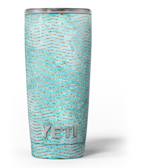 Blue-Green_Watercolor_and_Gold_Glitter_Chevron_-_Yeti_Rambler_Skin_Kit_-_20oz_-_V3.jpg