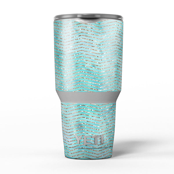 Blue-Green_Watercolor_and_Gold_Glitter_Chevron_-_Yeti_Rambler_Skin_Kit_-_30oz_-_V5.jpg