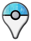 Blue 082 Absorbed Watercolor Texture Pokémon GO Plus Vinyl Protective Decal Skin Kit
