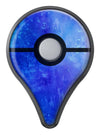 Blue 275 Absorbed Watercolor Texture Pokémon GO Plus Vinyl Protective Decal Skin Kit