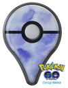 Blue 3 Absorbed Watercolor Texture Pokémon GO Plus Vinyl Protective Decal Skin Kit