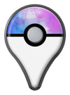 Blue 972 Absorbed Watercolor Texture Pokémon GO Plus Vinyl Protective Decal Skin Kit