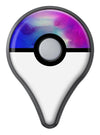 Blue 97 Absorbed Watercolor Texture Pokémon GO Plus Vinyl Protective Decal Skin Kit