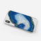 Blue Agate Slice - Crystal Clear Hard Case for the iPhone XS MAX, XS & More (ALL AVAILABLE)