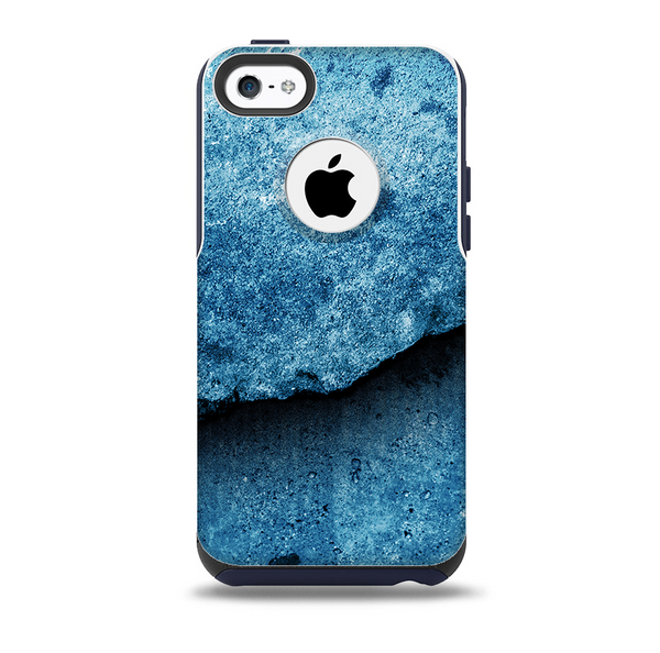 Blue Broken Concrete Skin For The Iphone 5c Otterbox
