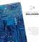"Blue Circuit Board V1 - Full Body Skin Decal for the Apple iPad Pro 12.9"", 11"", 10.5"", 9.7"", Air or Mini (All Models Available)"