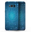 Blue Circuit Board V2 - Samsung Galaxy S8 Full-Body Skin Kit