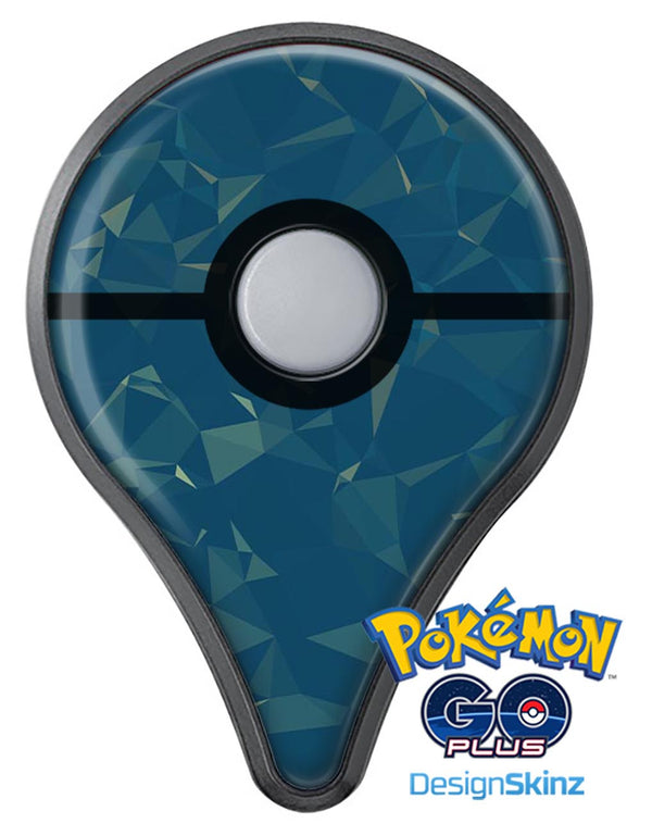 Blue Geometric V10 Pokémon GO Plus Vinyl Protective Decal Skin Kit