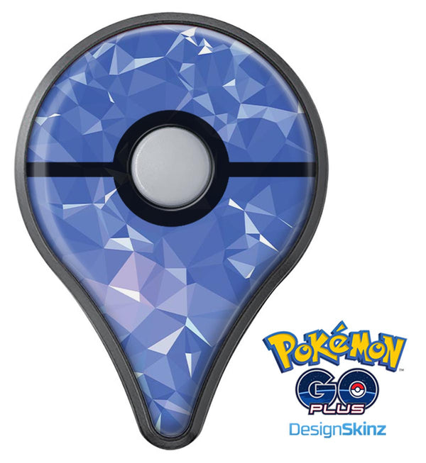 Blue Geometric V16 Pokémon GO Plus Vinyl Protective Decal Skin Kit