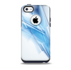 Blue HD Glass Shard Skin for the iPhone 5c OtterBox Commuter Case