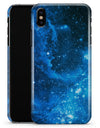 Blue Hue Nebula - iPhone X Clipit Case