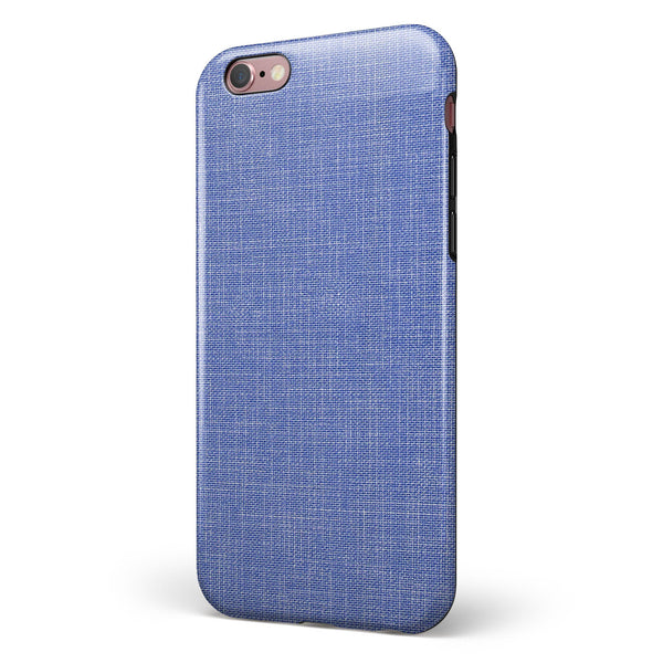 Blue Jean Overall Pattern iPhone 6/6s or 6/6s Plus 2-Piece Hybrid INK-Fuzed Case