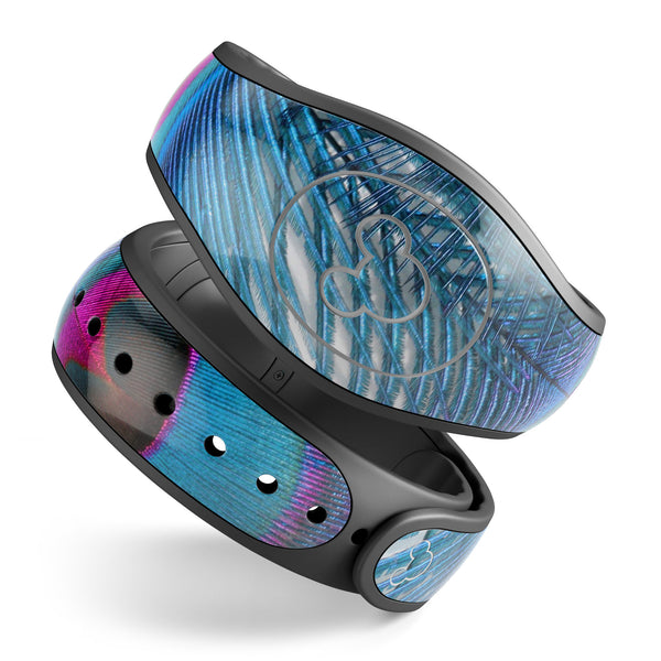 Blue Peacock - Decal Skin Wrap Kit for the Disney Magic Band