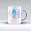 The-Blue-&-Pink-Watercolor-Feathers-ink-fuzed-Ceramic-Coffee-Mug
