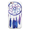 Blue & Purple Watercolor Dreamcatcher iPhone 6/6s or 6/6s Plus 2-Piece Hybrid INK-Fuzed Case