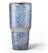 Blue Slate Marble Surface V41 Yeti Rambler Skin Kit