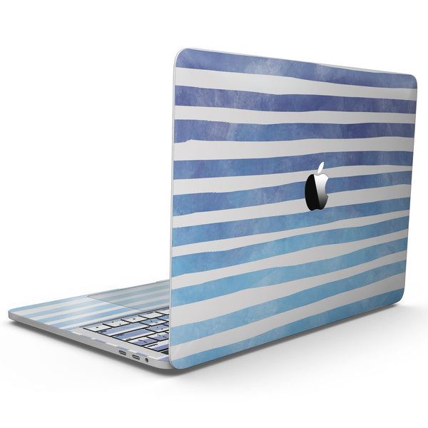 MacBook Pro with Touch Bar Skin Kit - Blue_WaterColor_Ombre_Stripes-MacBook_13_Touch_V9.jpg?