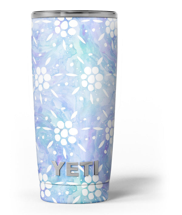 Blue_Watercolor_and_White_Flower_Print_Pattern_-_Yeti_Rambler_Skin_Kit_-_20oz_-_V3.jpg