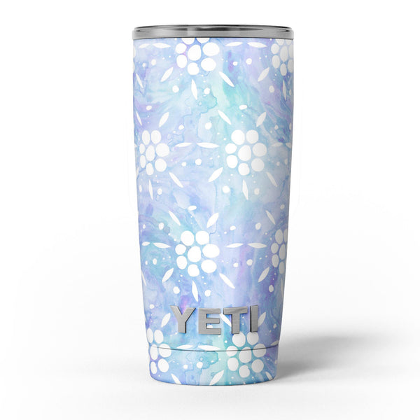 Blue_Watercolor_and_White_Flower_Print_Pattern_-_Yeti_Rambler_Skin_Kit_-_20oz_-_V5.jpg