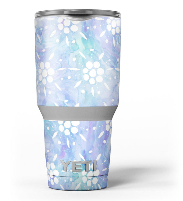 Blue_Watercolor_and_White_Flower_Print_Pattern_-_Yeti_Rambler_Skin_Kit_-_30oz_-_V3.jpg