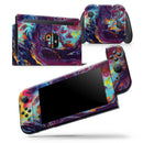 Blurred Abstract Flow V31 - Skin Wrap Decal for Nintendo Switch Lite Console & Dock - 3DS XL - 2DS - Pro - DSi - Wii - Joy-Con Gaming Controller
