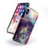 Blurred Abstract Flow V31 - iPhone X Swappable Hybrid Case