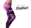 Blurred Abstract Flow V51 - All Over Print Womens Leggings / Yoga or Workout Pants
