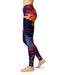 Blurred Abstract Flow V59 - All Over Print Womens Leggings / Yoga or Workout Pants