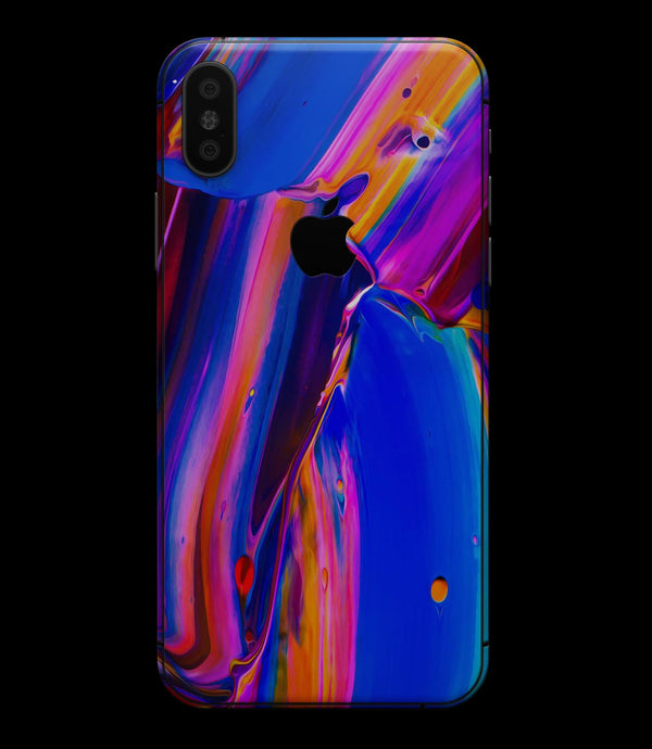 Blurred Abstract Flow V5 - iPhone XS MAX, XS/X, 8/8+, 7/7+, 5/5S/SE Skin-Kit (All iPhones Available)