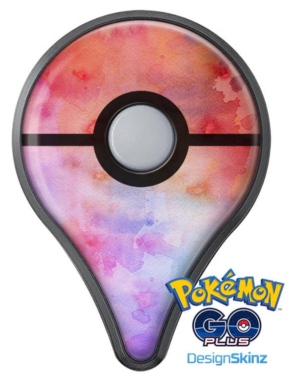 Blushed Blue 4224 Absorbed Watercolor Texture Pokémon GO Plus Vinyl Protective Decal Skin Kit