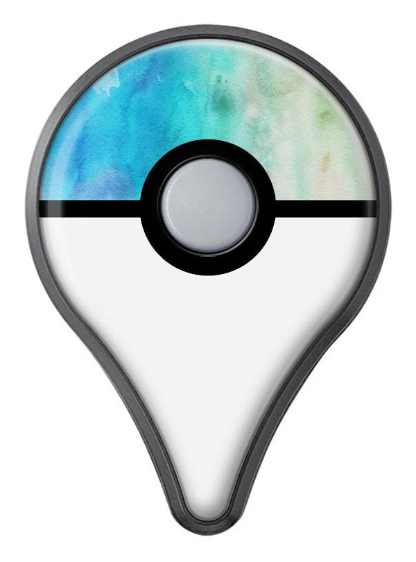 Blushed Mint 32 Absorbed Watercolor Texture Pokémon GO Plus Vinyl Protective Decal Skin Kit