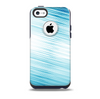 Bright Diagonal Blue Streaks Skin for the iPhone 5c OtterBox Commuter Case