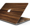 "Bright Ebony Woodgrain - Skin Decal Wrap Kit Compatible with the Apple MacBook Pro, Pro with Touch Bar or Air (11"", 12"", 13"", 15"" & 16"" - All Versions Available)"