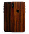 Bright Red Ebony Woodgrain - iPhone XS MAX, XS/X, 8/8+, 7/7+, 5/5S/SE Skin-Kit (All iPhones Available)