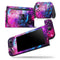 Bright Trippy Space - Skin Wrap Decal for Nintendo Switch Lite Console & Dock - 3DS XL - 2DS - Pro - DSi - Wii - Joy-Con Gaming Controller