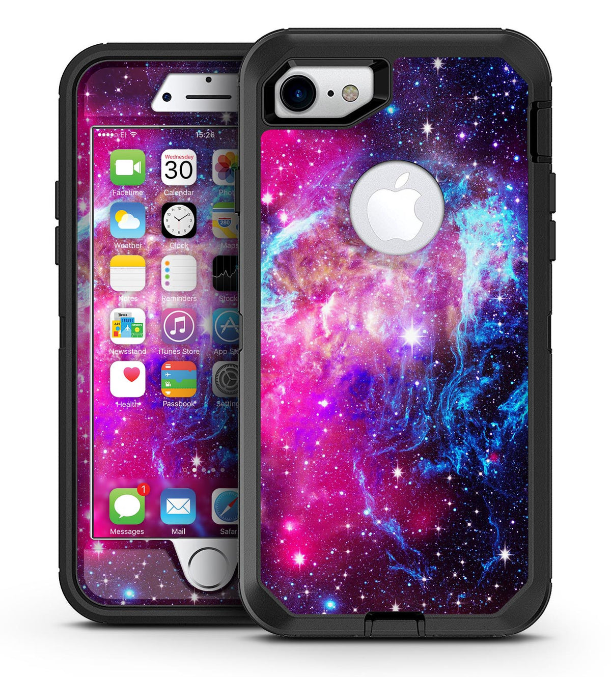 quality design 21f12 ffbcb Bright Trippy Space - iPhone 7 or 7 Plus OtterBox Defender Case Skin Decal  Kit
