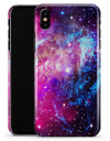 Bright Trippy Space - iPhone X Clipit Case
