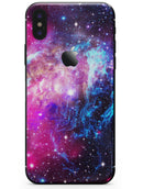 Bright Trippy Space - iPhone X Skin-Kit
