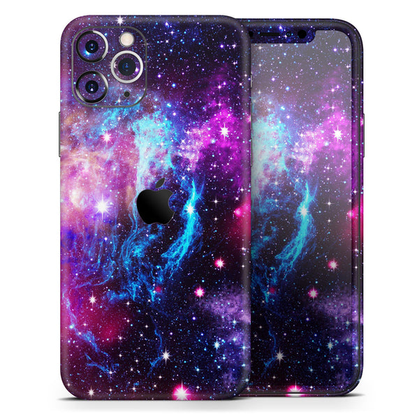 Bright Trippy Space - Skin-Kit for the Apple iPhone 11, 11 Pro or 11 Pro Max