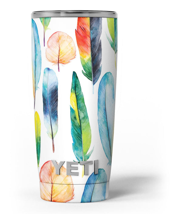 Bright_Water_Color_Painted_Feather_-_Yeti_Rambler_Skin_Kit_-_20oz_-_V3.jpg