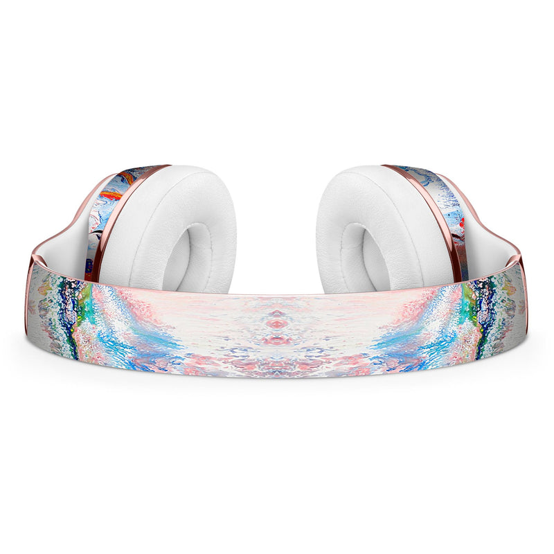 Bright White and Primary Color Paint Explosion Full-Body Skin Kit for the Beats by Dre Solo 3 Wireless Headphones