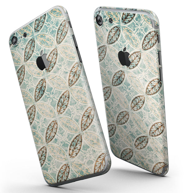Brown_Blue_and_Tan_Circle_Leaf_Pattern_-_iPhone_7_-_FullBody_4PC_v3.jpg